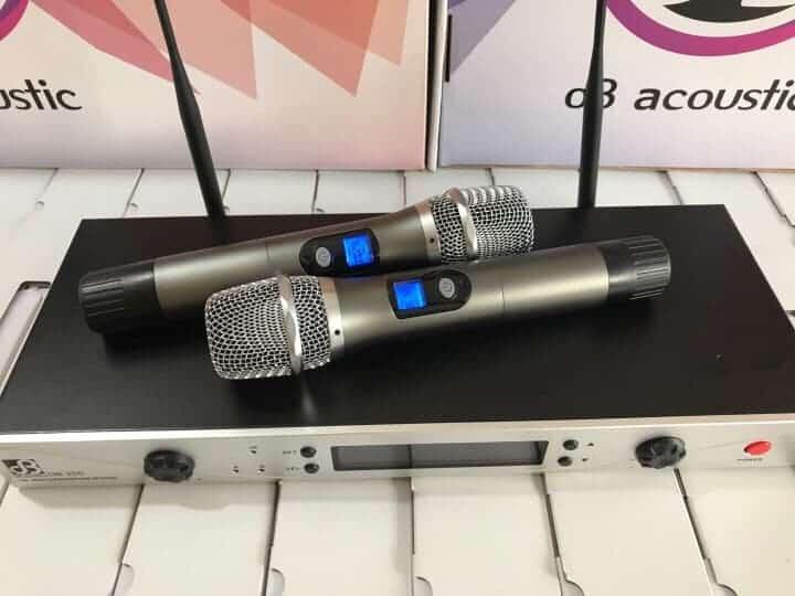 Mic dB Acoustic dB350