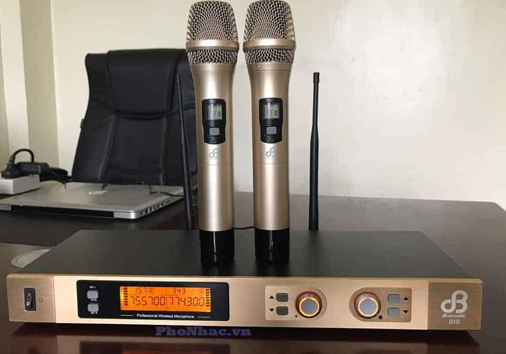 mic dB D10 chinh hang dB Acoustic