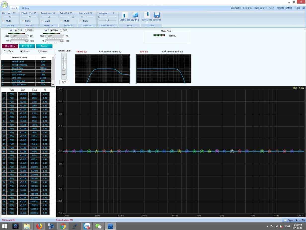 Phần mềm vang số sb s750 db acoustic