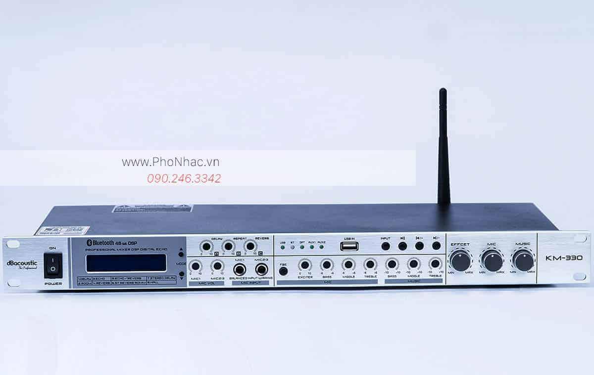 Vang cơ lai số DB acoustic KM330